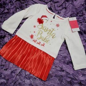 Other - 12mo Santa Babe Sweater dress